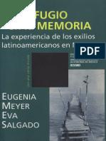 Meyer Eugenia Un Refugio en La Memoria 9-361