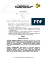 Proyecto Ley Propiedad Urbana Bolivia