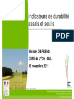 13.Determination Des Indicateurs de Durabilite - Dierkens