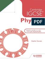Cambridge IGCSE Physics Workbook 2nd Edition