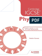 Cambridge IGCSE Physics Workbook 2nd Edition