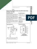LM4766T datasheet