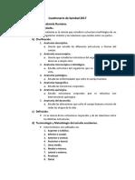 Cuestionario de Sanidad 2017