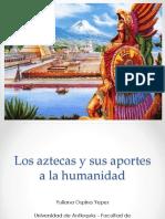 Unidad 2 Aztecas -Yuliana Ospina