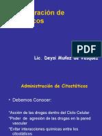 Administración de Citostáticos