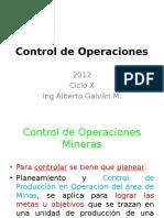Conrol de Operaciones Clase 1 2012 Ciclo X