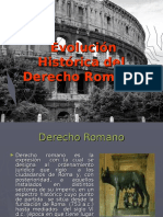 Evolucion Historica Del Derecho Romano