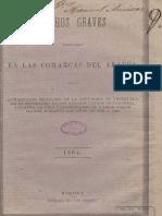 1864 Denuncia Ataques Venezolanos en Arauca