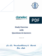 Danelec Study Exercise (Version 1.00)