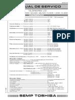 MANUAL DE SERVICO 32L2400 SEMP TOSHIBA