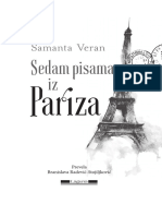 Sedam Pisama Iz Pariza o