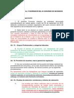 Rectificaciones al 3º borrador del III Convenio de Incendios