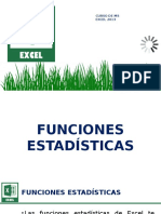 MSEXC - 05 Funciones Estadísticas Clase 4