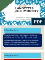 Melanocytes and Skin Immunity