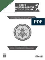 Prova CBMDF - CFO - 2017 (Anulada)