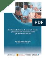 2012 Barreras Acceso Alliance Final Research Report- SPANISH Web