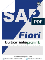 Sap Fiori Tutorial