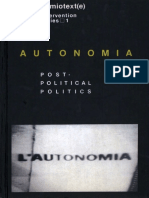 Autonomia - Post-Political Politics (Reduced)