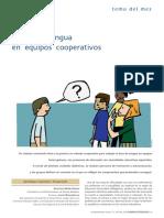 Aprender Lengua en Equipos Cooperativos