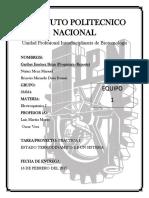 Practica 1 - Electroquimica I - UPIBI IPN