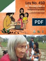 Ley No 45 de Protección a Naciones y PueBlos Indígenas Originarios
