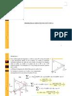 Estatica problemas resueltos.pdf