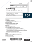 January 2014 (IAL) MS - Unit 1 Edexcel Chemistry a-level
