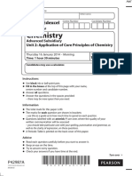 January 2014 (IAL) QP - Unit 2 Edexcel Chemistry a-level