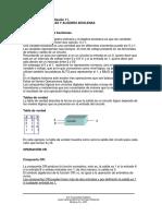 M3. Compuertas Logicas y Algebra Boolena