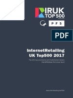 InternetRetailing  UK Top500 2017