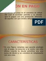 Dacion de Pago