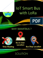 IoT SMART BUS WITH LoRa