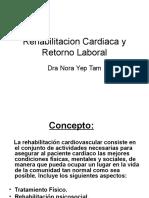 Rehabilitacion Cardiaca y Retorno Laboral