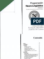 242845998 Richard Bandler John Grinder Programacion Neurolinguistica Vol 1 PDF