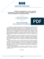 Real Decreto 1389_1997 Salud Ind Extractiva (Texto Consolidado) España