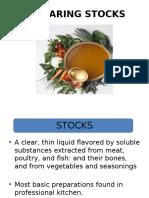 Stocks Soup Sauce