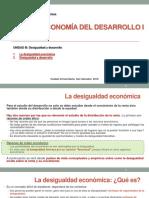 8. U3 La Desigualdad y El Desarrollo