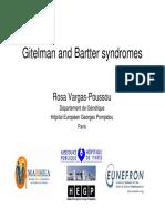 Gitelman and Bartter Syndromes