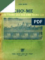 (1957) Khơ Me Đấu Tranh Cho Hoà Bình Trung Lập - Văn Quân