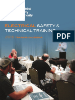 2016 Training Calendar