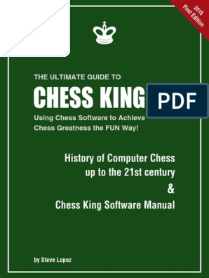 Chess King Manual 201512 | Chess | Traditional Games