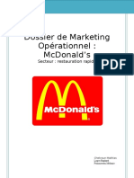 Dossier de Marketing Opérationnel