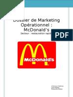 Dossier de Marketing Opérationnel