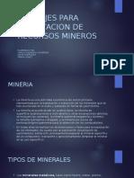 MONTAJES PARA EXPLOTACION DE RECURSOS MINEROS.pptx