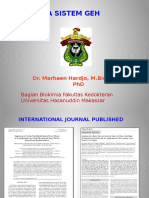 Biokimia - Dr.maehan Hardjo M.biomed PhD