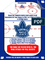 leafs poster