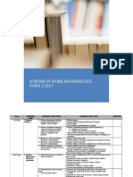 Rph Maths Form 2 Dlp 2017