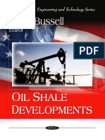 Oil Shale Developments