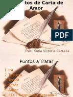 Formatos de Carta de Amor