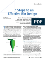 Ten Steps to an Effective Bin Design - AIChE